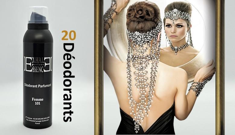 Cliquez ici pour découvrir notre gamme Dédorants Femme