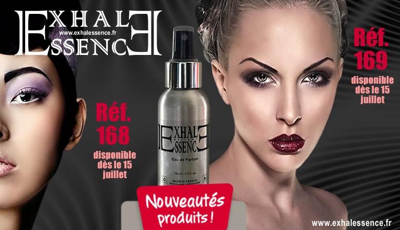 Nouveau parfum Femme 168 et 169