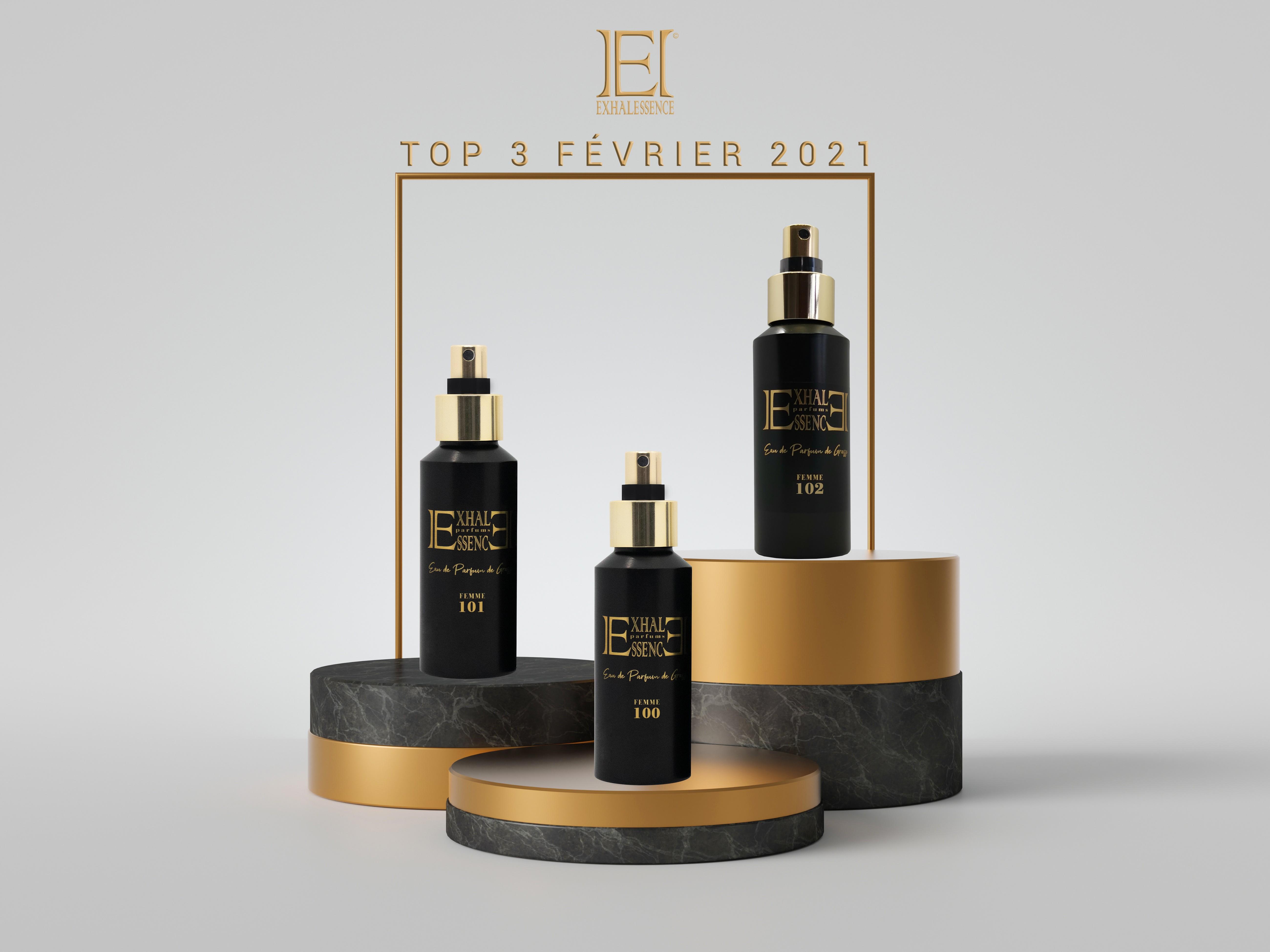 Top 3 des parfums les plus vendus en Février 2021 !