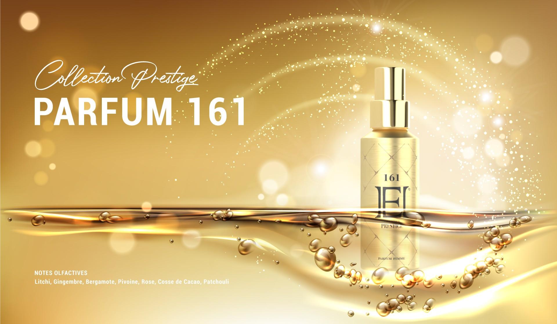 Cliquez ici pour découvrir notre Parfum Prestige 161
