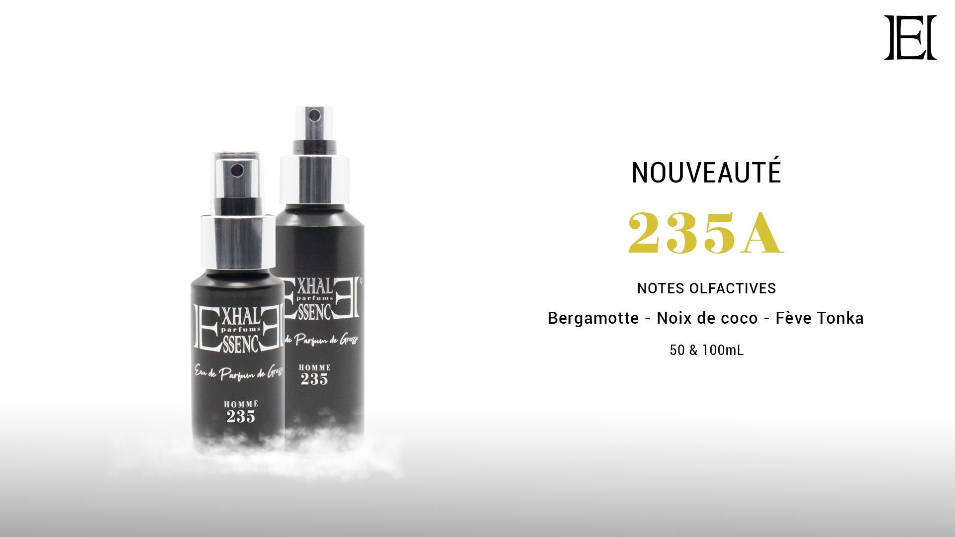 Cliquez ici pour découvrir notre Eau de Parfums 235A
