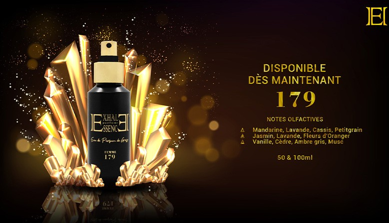 Cliquez ici pour découvrir notre Eau de Parfums 179